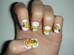 Get Nostalgic: 30 Nail Designs Inspired By 90's Cartoons