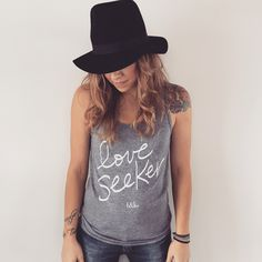 graphic tee outfit, spring, summer outfit, inspirational tee, yoga wear, grey tank, love, ,street style, street wear, casual chic
