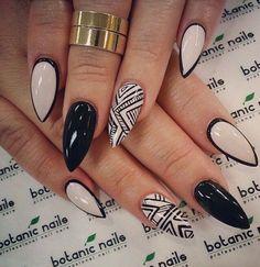 Stiletto Nails Tumblr | ️ Beautiful Stiletto Nail Ideas! ️ #tipit | Trusper