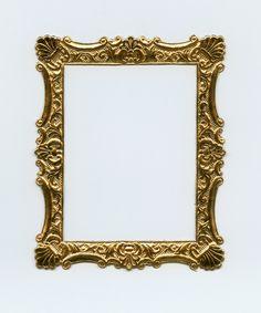 DRESDEN FRAME Gold Dresden Frame Gold Embossed Frame