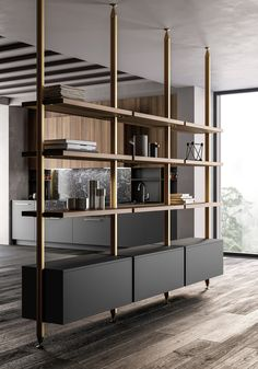 Kitchen 2019 on Behance Best Picture For home design art artworks For Your Taste You are looking for Living Room Partition Design, Room Partition Designs, Partition Ideas, Muebles Living, Farmhouse Kitchen Cabinets, Simple Bathroom, Bathroom Ideas, Office Interiors, Cheap Home Decor