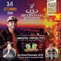 Heliponto Bar   Quarta Universitaria. Narguile Liberado! Listas e Infos no Site: http://www.baladassp.com.br/balada-sp-evento/Heliponto-Bar/464 Whats: 951674133