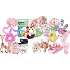 new baby girl stuff by turtle44 on Polyvore