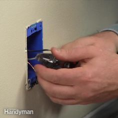 the family handyman editor, rick muscoplat, shows you how to splice in jumper wires to give you the slack you need.