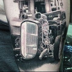 Car Tattoos for Men - Ideas and Inspiration for Guys