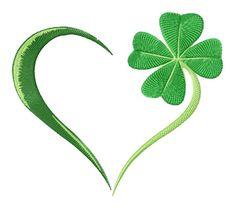 4 leaf clover and heart design Gälische Tattoo, Body Art Tattoos, Gaelic Tattoo, Tattoos Skull, Wrist Tattoo, Tattoo Symbole, Shamrock Tattoos, Irish Blessing, Celtic Symbols
