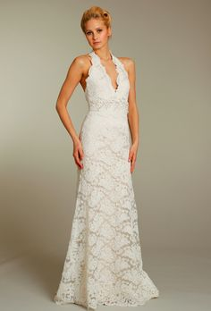 The Perfect Fit: Halter Top Wedding Gowns For Older Brides | I Do Take Two