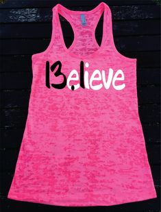 Believe 13.1 Half Marathon Running  Burnout Racerback Athletic Fit TankTop  Super Comfy  Gift Unique Best  Great Tank Top by SuperTeesandHats on Etsy