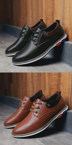 US $24.97 <Click to buy> Classic Basic Style Mens Oxford Business Shoes  Soft Casual