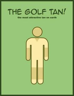 Are you working on your golf-tan? LOL #golf #lorisgolfshoppe
