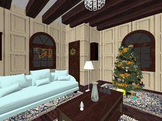 Nappali  karácsonykor