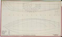 PLAN DE COQUE - Clipper II 9 m (1970)