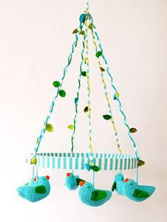 Decorate a #nursery with one of these 8 cutting-edge mobiles that you and your baby will enjoy looking at!
