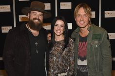 Keith Urban Photos Photos - Zac Brown, Shelly Brown and Keith Urban attend CRS 2017 Day 1 on February 22, 2017 in Nashville, Tennessee. - CRS 2017 - Day 1