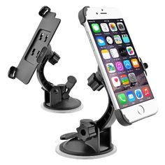 Car Windshield Dashboard Mobile Phone Mount Holder with Sucktion Cup