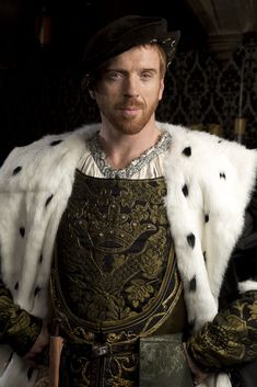 Damian Lewis as King Henry VIII in Hilary Mantel's Wolf Hall (BBC).