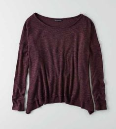AEO Feather Light Petal Back Sweater - Check Out The Back!