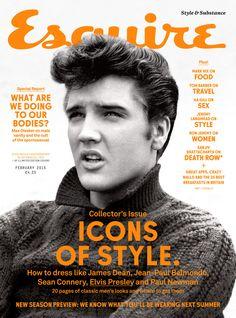 Elvis Presley - Esquire Magazine Cover [United Kingdom] (2 February 2015)