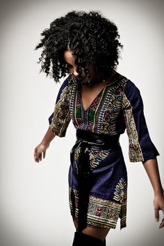 The outfit, the hair! To learn how to grow your hair longer click here - http://blackhair.cc/1jSY2ux