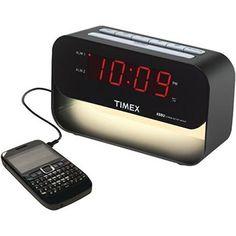 5. Timex Decorative XBBU Dual Alarm Clock