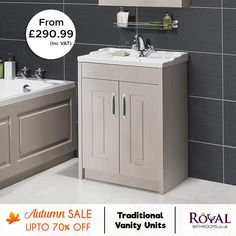 Up to 70% Autumn Sale on Vanity Units  Choose from ton of traditional & modern vanity units for bathroom in all modern styles.  #Sale #uk #Traditional #Vanity #Unit #TraditionalVanityUnitbathroom #VanityUnitbathroommodern #FoatingVanityUnit #DiyVanityUnit #SinkVanityUnit #RusticVanityUnit #Wallhungvanityunit #BathroomVanityUnit #BathroomVanity #BathroomVanityUnitideas #BathroomVanityideas #BathroomVanitylighting #BathroomVanities #BathroomshowerVanity #BathroomshowerVanities
