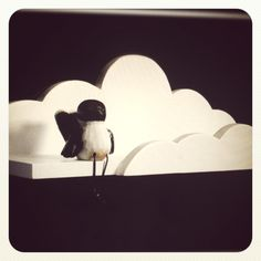ETSY  Cloud shelf for nursery or toddler room