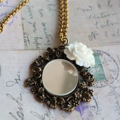 Image of Mirror Mirror on the Wall charm necklace