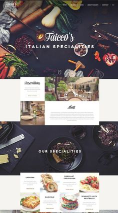 MGDP WEBsite layout & design Are these graphic design trends going out of style? Web Design Blog, Food Web Design, Graphic Design Trends, Web Design Company, App Design, Food Graphic Design, Seo Company, Mobile Design, Layout Design
