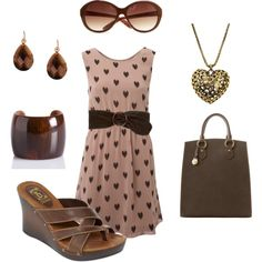 Chocolate love, created by shantell1971.polyvore.com