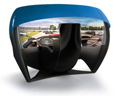 Ariel Atom-inspired simulator touts world's first 180-degree spherical projector screen