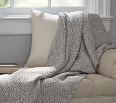 Donegal Knit Throw | Pottery Barn
