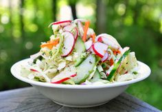 Fat Free Lime-Herb Slaw