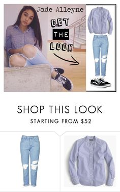 """""Get the Look"" Inspired by: Jade Alleyne"" by maddiemae30 ❤ liked on Polyvore featuring Topshop, J.Crew and GetTheLook"
