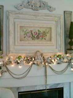 Blossoms Vintage Chic: Getting in the Christmas Spirit (a smidge late)!!