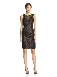 Maggy London Women's Jacquard Illusion Sheath Dress, http://www.myhabit.com/redirect/ref=qd_sw_dp_pi_li?url=http%3A%2F%2Fwww.myhabit.com%2Fdp%2FB00L43GV96