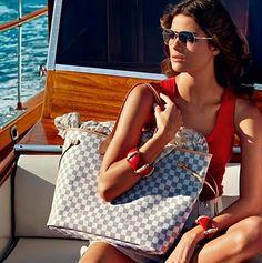 Louis Vuitton Damier Azur Mediterranean Elegance |In LVoe with Louis Vuitton