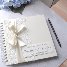 guest books make your own and incorporate calendar pages for ...