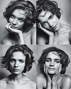 Natalia Vodianova LOVE her hair Pictures Of Short Haircuts, Cool Short Hairstyles, Cool Haircuts, Short Hair Styles, Haircut Pictures, School Hairstyles, Hairstyles 2016, Curly Hairstyles, Portrait Photography Poses