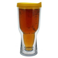 Beer To Go Cup by Gent Supply Co. A beer sippy cup for him. :) $19.50