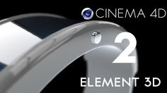Cinema 4D to AE Element 3D Tutorial (With working materials)