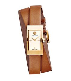 the Buddy signature double wrap watch - the new Tory Burch watch collection