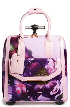 Can't wait to travel with this vibrant floral Ted Baker London carry on.