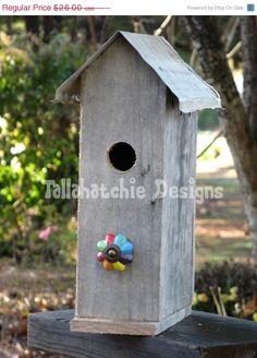 30% OFF TODAY Primitive Birdhouses, Rustic Birdhouses, Tin Roof Birdhouses, Rusty Roof Birdhouses, Barnwood Birdhouses, Wood Birdhouses