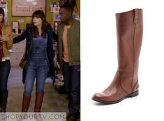 New Girl: Season 3 Episode 10 Jess' Brown Boots - ShopYourTv