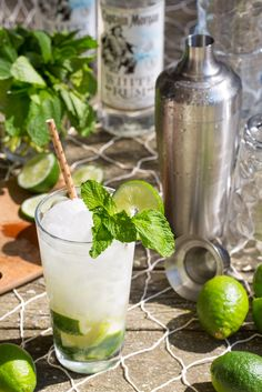 Sommer Collier Woahito Recipe 1.5 oz Captain Morgan® White Rum, 0.5 oz simple syrup, 6 Fresh mint leaves, 1/2 Lime cut into wedges, 1 oz club soda, 1 mint sprig (Photo Credit: HelloSociety Influencer Sommer Collier)