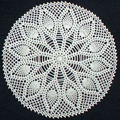 doilies for bar stool covers...let's see how this goes!