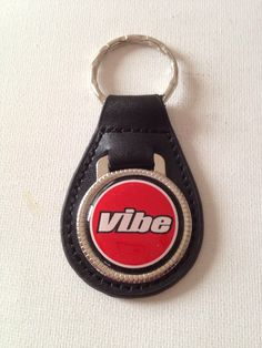 A personal favorite from my Etsy shop https://www.etsy.com/listing/267252537/pontiac-vibe-keychain-genuine-leather