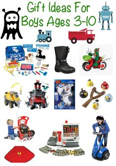 boys gift guide ages 3 10 neat christmas gift ideas or birthday gift ideas for