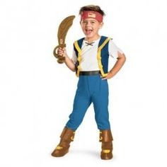 Are you looking for a Jake Pirate Costume? We have several Jake and the Neverland Pirates costumes for Halloween. Of course they could be used...