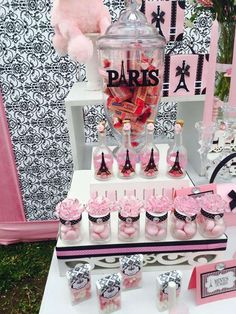 Glamour in Paris Birthday Party Ideas | Photo 3 of 9